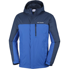 Columbia Pouring Adventure II Jacket Men azul/collegiate navy